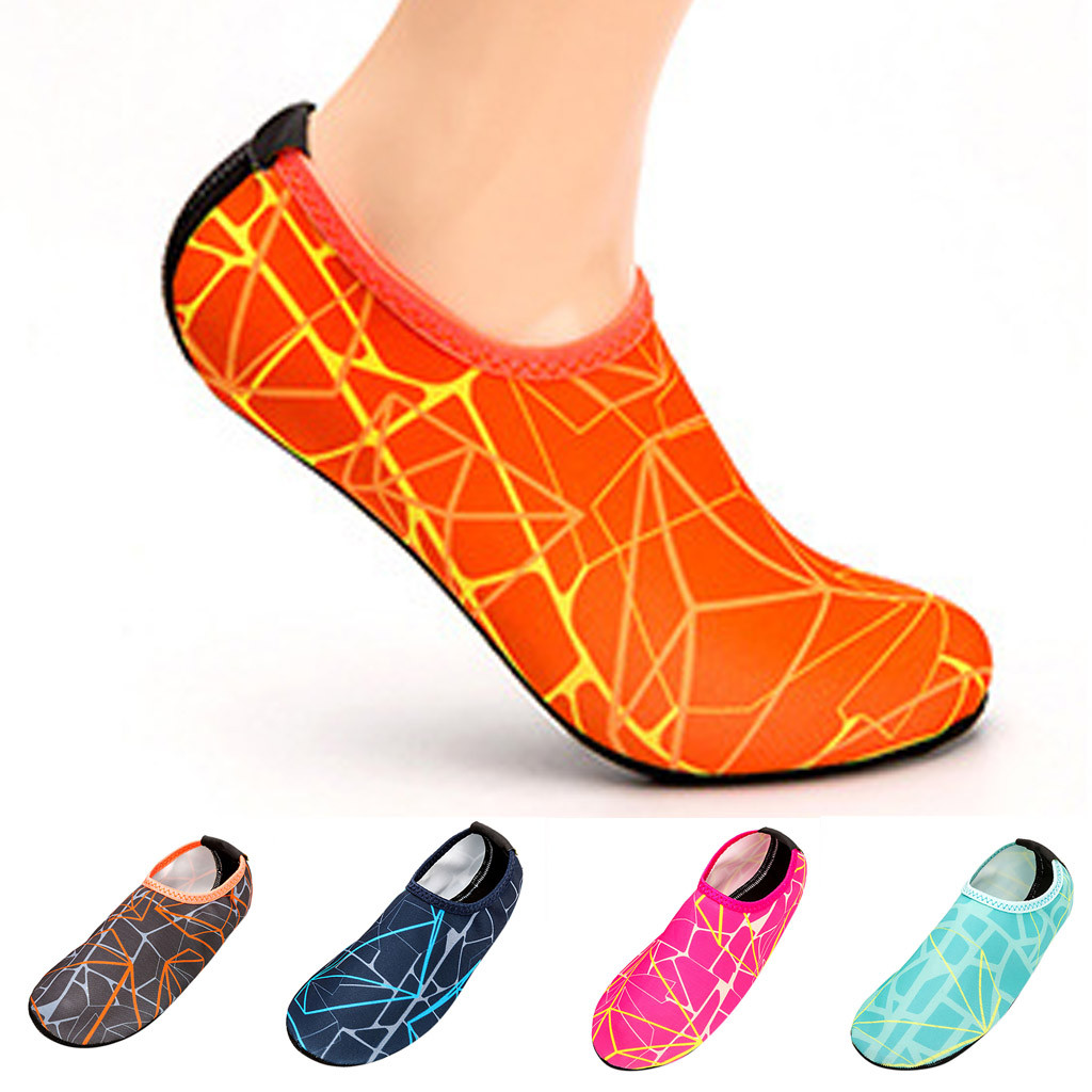 New Beach Swimming Water Sport Socks Anti Slip Shoes Yoga Fitness Dance Swim Surfing Diving Underwater Shoes For Men Women 30