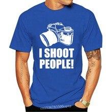 Eu tiro pessoas engraçado fotógrafo foto selfie câmera engraçado dos homens camiseta azul camiseta camiseta camiseta