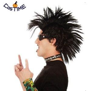 80-е годы рок-группа, рок-н-ролл, тяжелый металл, певица, колючие волосы, аксессуары для костюмированной вечеринки на Хэллоуин