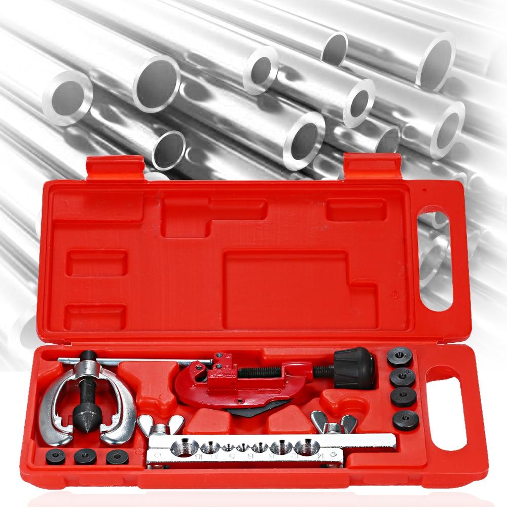 Набор метрических режущих инструментов, медный тормоз, ремонт топливных труб, двойная развальцовка, набор инструментов для резки, торможен...