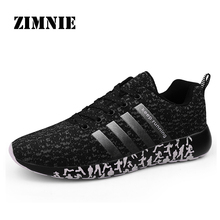 ZIMNIE Hot Men Sneakers Breathable Non-Slip Quality Flat Shoes