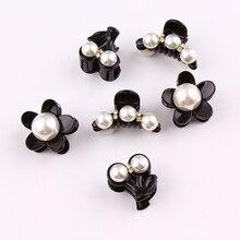 Hair clip Korean headgear elegant pearl small size hair accessories bangs