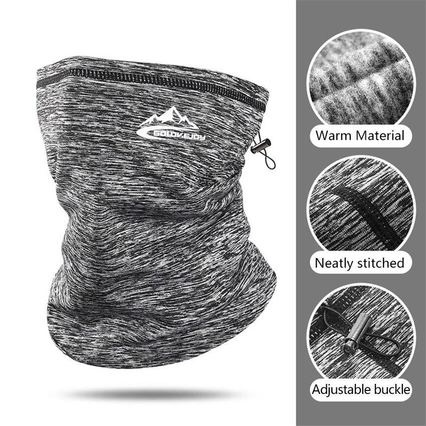 New Autumn Winter Men's Scarf Outdoor Windproof Dustproof Warm Ear Protection Mask Elastic Bicycle Headbands Bandana For Men