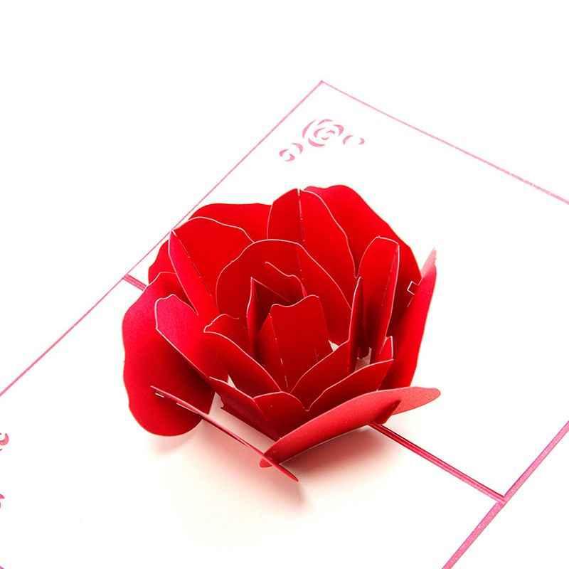 роза для объемной открытки картинки