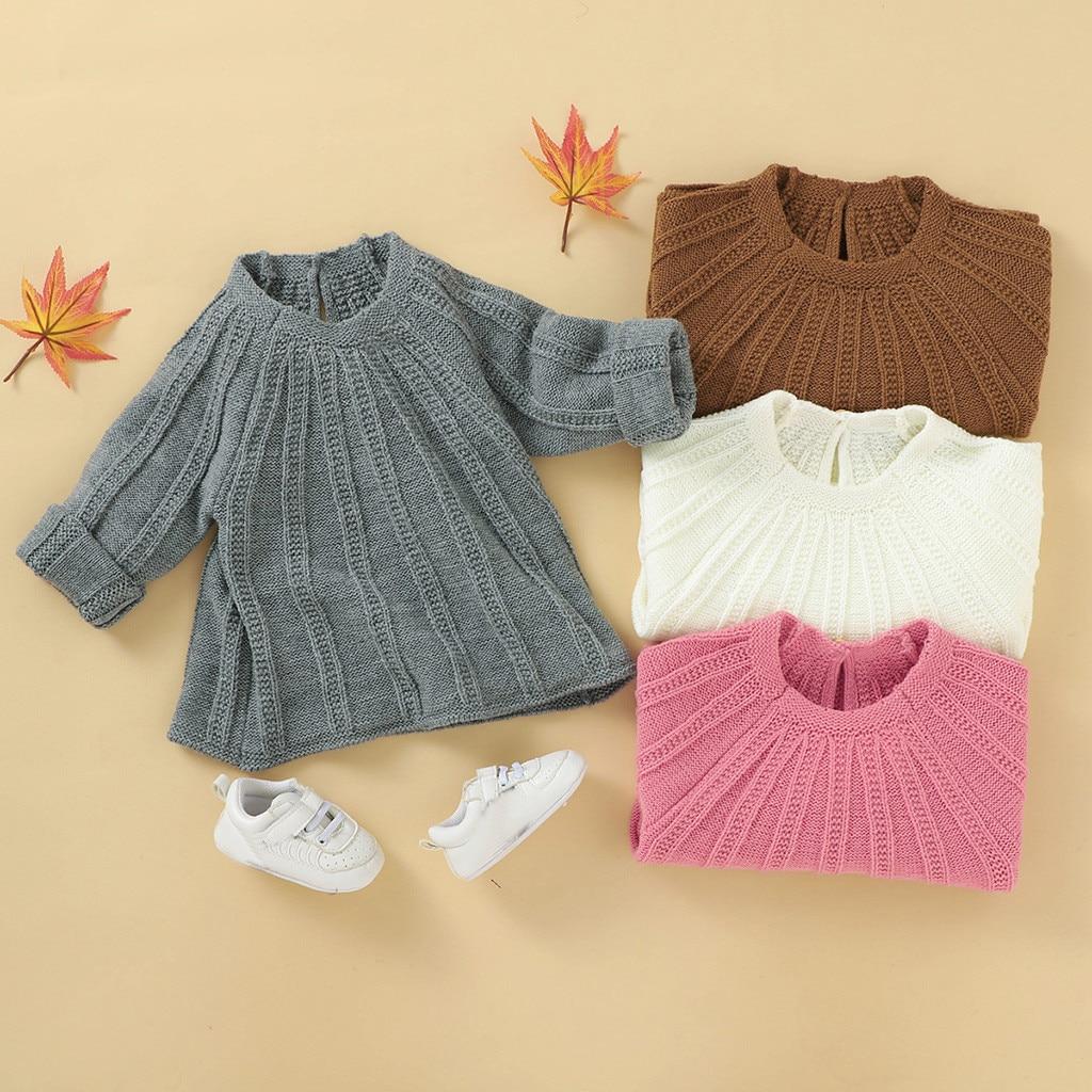 baby sweater baby girl winter clothes Newborn Infant Baby Girl Boy Winter Jacket Warm Button Coat Knit Outwear Sweater свитер