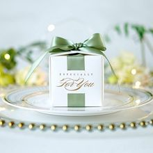 Wedding Favors Gift Box Souvenirs Gift Box With Ribbon Candy Boxes For Christening Baby Shower Birthday Event Party Supplies