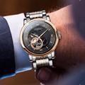 Switzerland LOBINNI мужские часы люксовый бренд с Citizen Move Мужские t автоматические механические мужские скелетоны фаза Луны relogio L18013