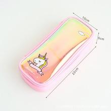 Unicorn Pencil Case Cute Stationery Box Student MBD094-099-6 School Supplies Office Pen Bag