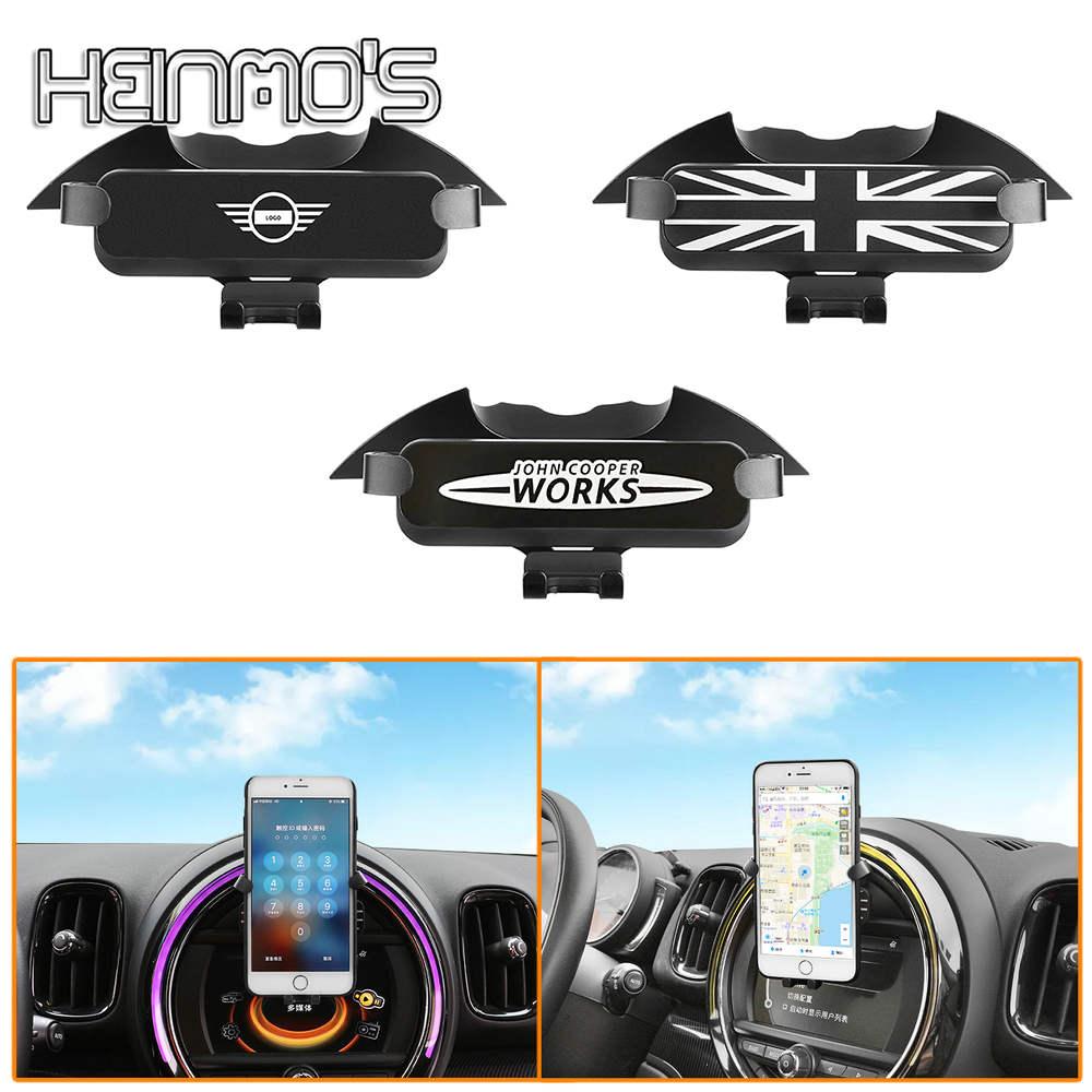 Mobile Phone Holder Car Accessories For MINI F60 Countryman F54 Clubman F55 F56 F57 For MINI COOPER F60 GPS Phone Bracket