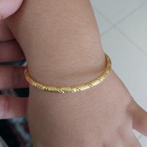 WANDO маленький золотой браслет и браслеты для малышей/девочек/мальчиков Браслет-талисман из бусинок маленький колокольчик/сердце ювелирные ...
