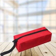 Оксфорд ткань водонепроницаемость хранение сумка винты гвозди сверло бит органайзер чехол рука инструмент упаковка