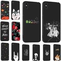 Color Negro teléfono móvil casos para Huawei Honor 20 20S 9X PRO Y9S jugar 3 V30 disfrutar 10 PLUS P SMARTZ 10 10 10 10S Y9 primer Premium bolsa