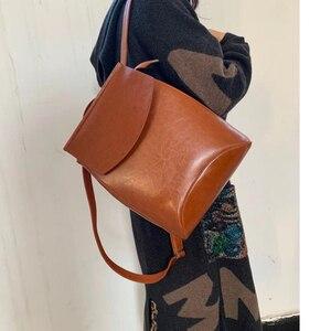 Image 5 - Fashion Women Backpack High Quality PU Leather Backpacks For Teenage Girls Female School Shoulder Bag Bagpack Mochila