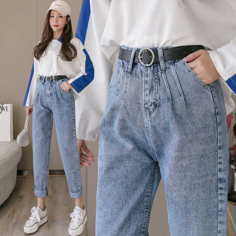 2020 Celebridad Web Joker Suelto Jeans De La Edicion De Han Recto Primavera Nuevos Pantalones Mujer Mostrar Delgada Xuan Torre Pantalones Pantalones Vaqueros Aliexpress