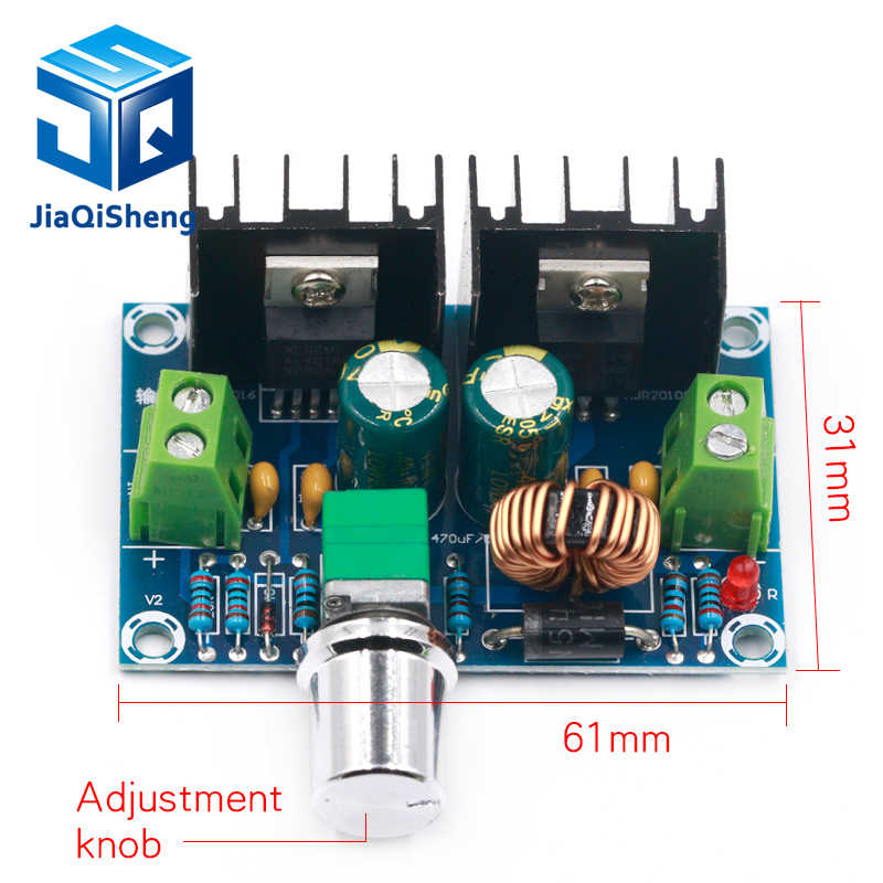 XH-M401 DC-DC Step Down Buck Converter Power SupplyโมดูลXL4016E1 PWMปรับได้4-40Vถึง1.25-36V Step Down Board 8A 200W