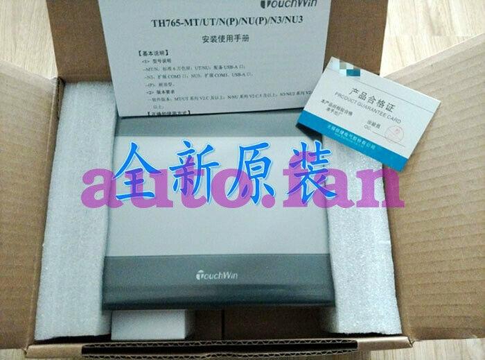 Para 7 polegada xinje TH765-N touchwin hmi tela sensível ao toque (requer programação para usar)