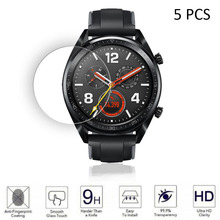 Screen-Protector Watch Huawei Tempered-Glass Anti-Scratch for GT 5PCS 9h-Hardness
