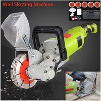 4000W Steel Concrete Cutting Machine 220V Electric Wall Chaser rut Cutting Machine Wall Slotting Circular Saw Power Tool