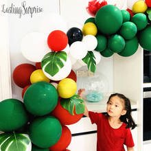 Green Red Balloon Party Supplies Ballon Garland Merry Chriatmas Balloons Christmas Happy New Year Decoration
