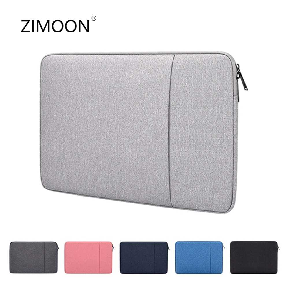 Laptop Sleeve Tas Met Pocket Voor Macbook Air Pro Ratina 11.6/13.3/15.6 Inch 11/12/ 13/14/15 Inch Notebook Case Cover Voor Dell Hp