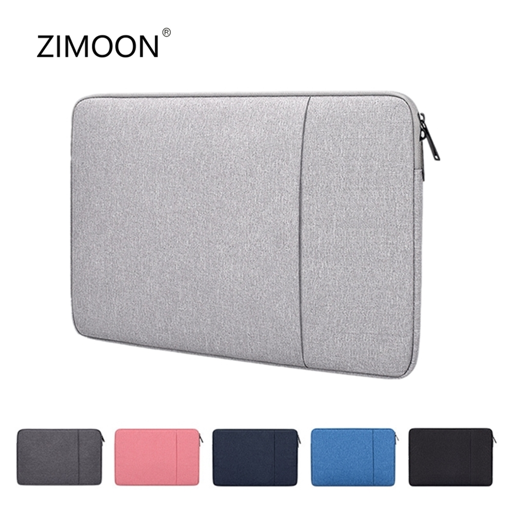 Laptop Sleeve Bag with Pocket for MacBook Air Pro Ratina 11.6/13.3/15.6 inch 11/12/13/14/15 inch Notebook Case Cover for Dell HP