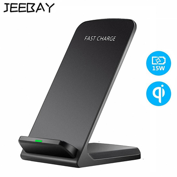 Qi Wireless Charger Fast Charging For iPhone 11 8 X XR XS Max Samsung Galaxy S8 S9 S10 Plus S10e Note 9 10 Stand Holder Base