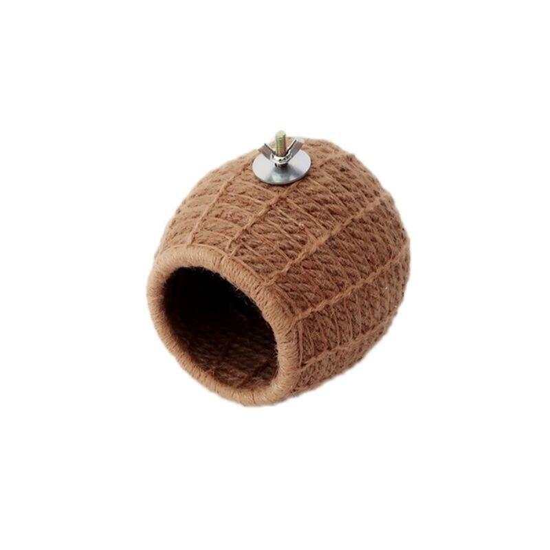 Handmade Hemp Rope Bird Nest Bed Toy for budgie Parakeet Cockatiel Conure Canary