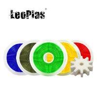 Precio Filamento de pompón de 1kg y 1,75mm de leopardo para impresora FDM 3D, suministros de impresión, Material plástico