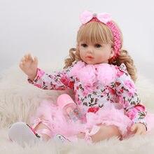 Кукла реборн Реалистичная из мягкого силикона 60 см