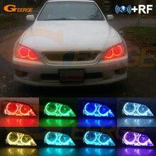 สำหรับ Lexus Is200 Is300 200 300ที่ยอดเยี่ยม RF Remote Bluetooth APP Multi Color Ultra Bright RGB LED แองเจิลตา Day Light