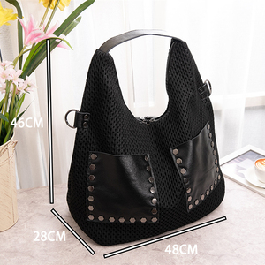 Image 5 - QINRANGUIO Shoulder Bag Women New Design Women Bag Patchwork Genuine Leather Crossbody Bags for Women 2020 Leather Handbags