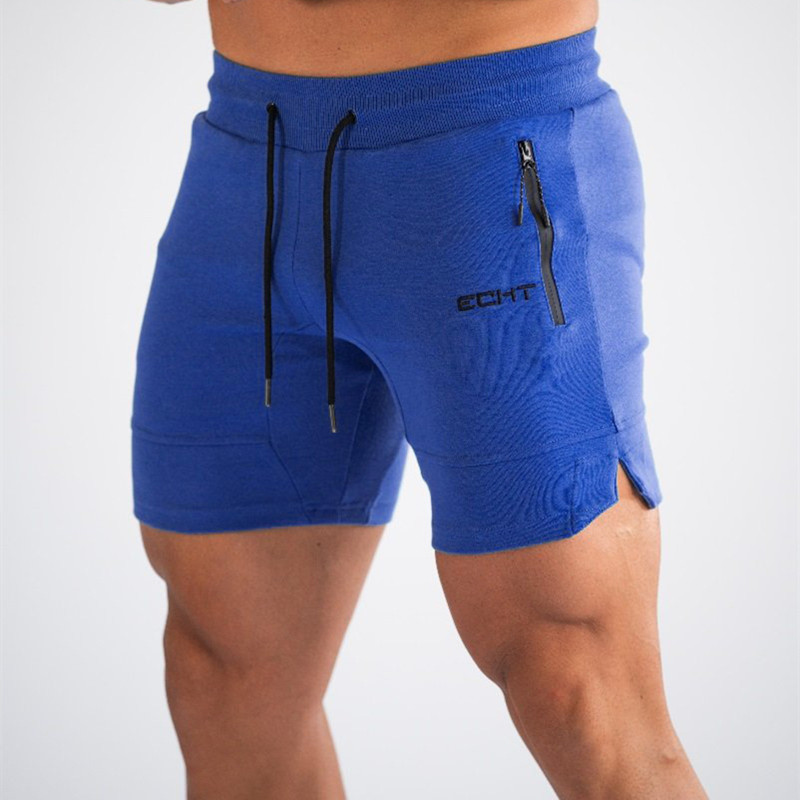 M-2XL Men Summer Casual Mesh Shorts Men Brand New Board Shorts 2019 Gym Solid Breathable Elastic Waist Fashion Casual Short Men