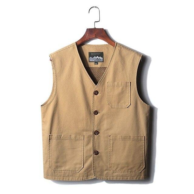 Men's Jean Jacket Japanese Harajuku Vest Fashion Men's New Fashion Denim Vest Casual Cowboy Jacket In Shoulder Blouse#g3 3