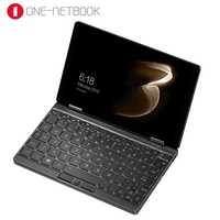 One Netbook One Mix 3S Notebook Yoga Pocket Laptop M3 8100Y 16GB 512GB Win 10 Mini Laptop With Original Stylus Pen Notebook