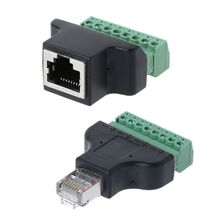 RJ45 Network Cable Modular Plug CAT6 8P8C Ethernet Connector End