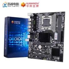 HUANANZHI X58 RX3.0 V110 материнская плата X58 для Intel LGA 1366 X5650 X5675 DDR3 1066/1333 МГц 16 Гб PCI E SATA2.0 USB3.0 M ATX