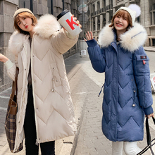 Plue size Fashion Winter Snow Hooded Cotton Coat Women Solid-color Casual Windproof Thick Warm Long-coat Elegant Loose Jacket plue size fashion winter snow hooded cotton coat women solid color casual windproof thick warm long coat elegant loose jacket