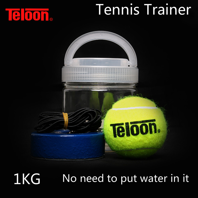 Teloon Tennis Trainer Upgrade Type No Need To Put In Water Or Sand Easy Using Top Quality With High Quality Tenis Ball K002SPA