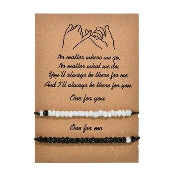 bracelet complementaire couple