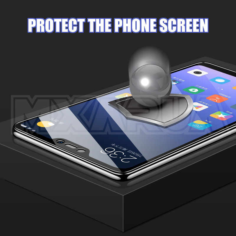 500D ป้องกันสำหรับ Xiaomi Redmi 7 7A 6 Pro 5 Plus 6A 5A S2 K20 K30 Redmi หมายเหตุ 6 pro กระจกนิรภัยหน้าจอป้องกันฟิล์ม