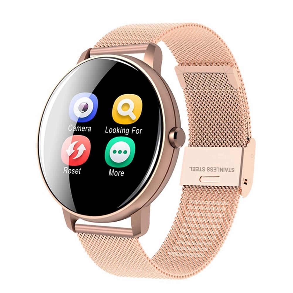 US $13.99 30% СКИДКА|Femperna Смарт часы для мужчин и женщин полный сенсорный экран водонепроницаемый монитор сердечного ритма кровяного давления мужские часы для Android IOS|Смарт-часы| |  - AliExpress