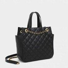ZOOLER Mode frauen Aus Echtem Leder Handtaschen Luxus Marke Frauen Taschen 2020 Designer Damen Hand Taschen Für Elegante Weibliche Schwarz