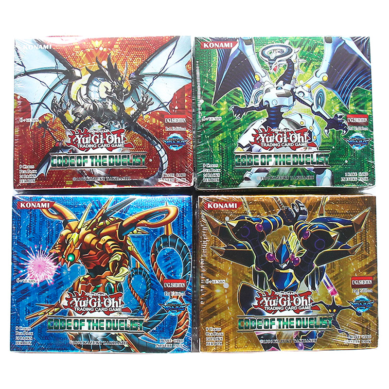TCG OCG English Yu Gi Oh Board Game Table Cards Toys Collections 216 Cards Deck For Kids Christmas Gifts