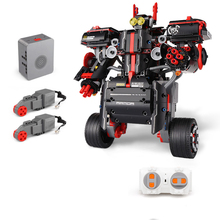 Building Blocks For Intelligent Balance Remote Control Robot Technic Diy Toy For Boys Children Bricks Toys Christmas Gifts city series weapon technic blocks 611pcs diy bricks rc robot building blocks compatible remote control robot block toy for kids
