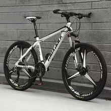 Bicicleta de montanha três-pólo bicicleta de velocidade variável 26 polegadas 27 velocidade adulto
