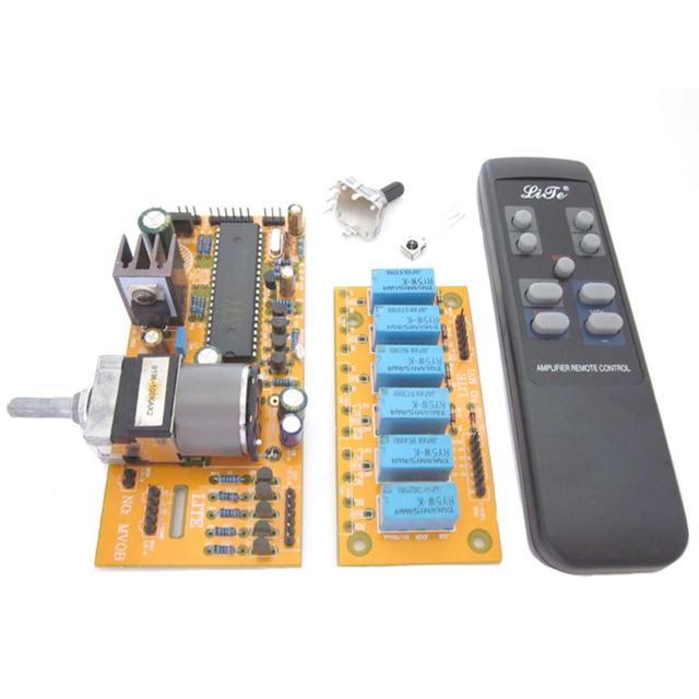 MV04 Quadruple ALPS Motorized Remote Control+Input Potentiometer 9 12V AC Remote Control Board
