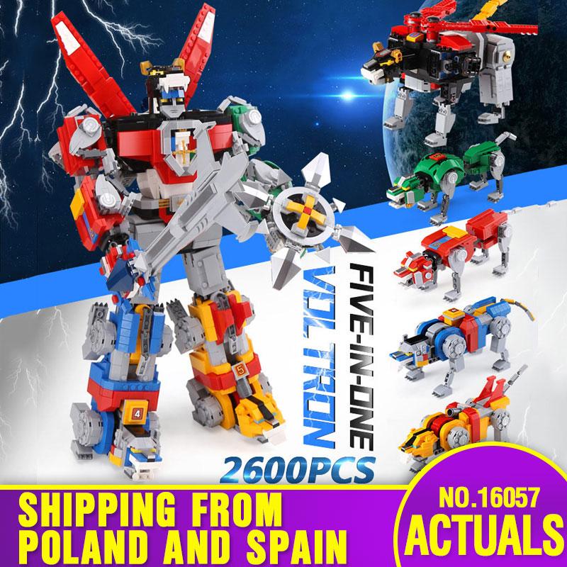 스페인에서 dhl 16057 영화 완구 시리즈 21311 변경 로봇 모델 완구 빌딩 블록 벽돌 아이 장난감 크리스마스 선물-에서블록부터 완구 & 취미 의  그룹 1