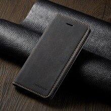 Кожаный чехол-бумажник для iPhone 6, 6 S, 7, 8 Plus, X, XS, Max, XR, 11 Pro, Max, 5, 5S, SE, 7 plus, 8 plus, 6 plus, слот для карт, откидная крышка, чехол-книжка