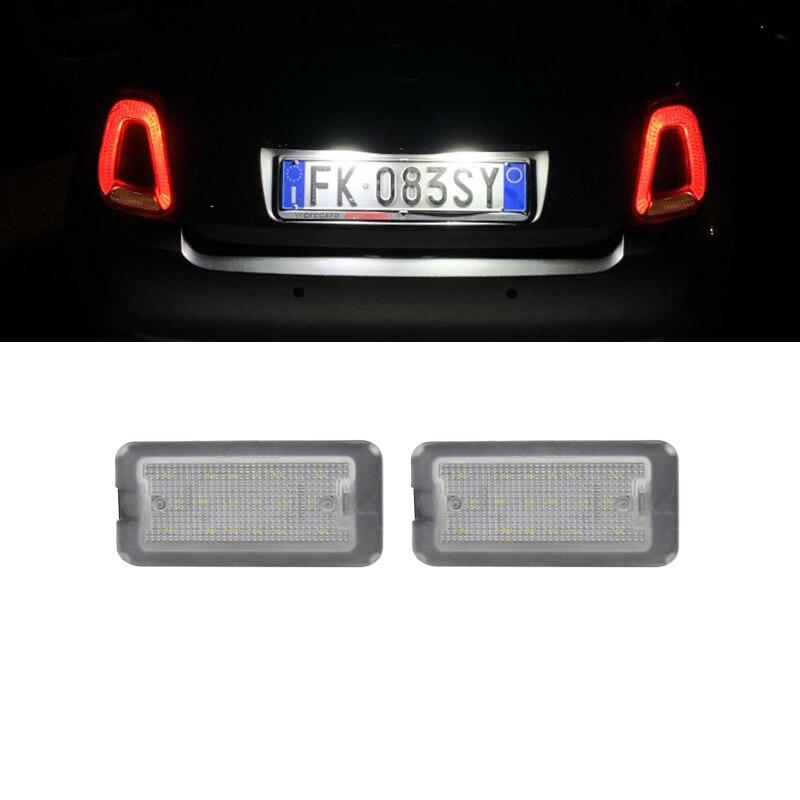 2x светильник Ной знак для FIAT 500 / C ABARTH CANBUS TARGA 51800482