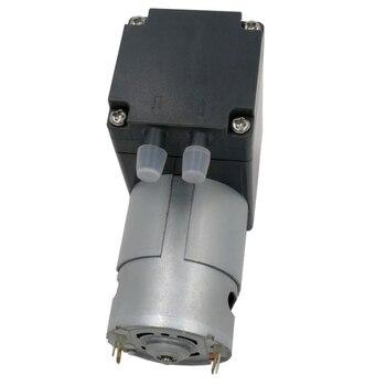 80Kpa Mini Vacuum Pump DC 12V Small Vacuum Suction Pump Diaphragm Pump Micro-Vacuum Pump 12L / Min 1pc electric mini vacuum air pump high pressure suction diaphragm pumps 5l min 80kpa dc 12v with holder for chemical industry